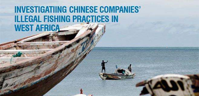 Barcos chinos saquean los caladeros africanos