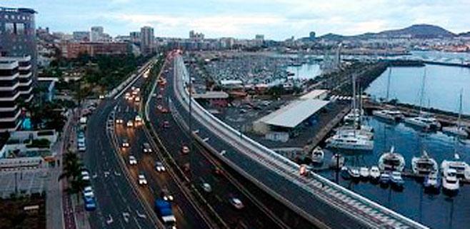 El tráfico colapsará Las Palmas