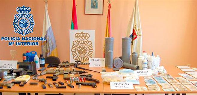 Detenidas 19 personas en el sur de Tenerife por tráfico de drogas