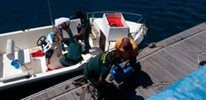 La Guardia Civil intercepta más de 850 kilos de hachís