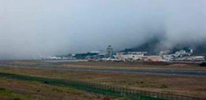 Cancelaciones y desvíos en Tenerife Norte