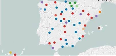 El PP pierde 15 capitales de provincia por los pactos y gobernará en 19