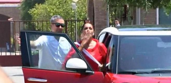 Isabel Pantoja sale de la cárcel