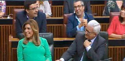 Susana Díaz logra su investidura
