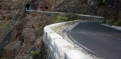 La carretera de Teno está cada vez más cerca de la reapertura