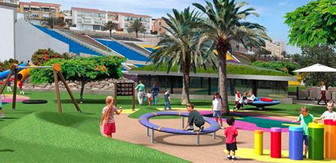 El Insular se transformará en al zona infantil más grande de la ciudad