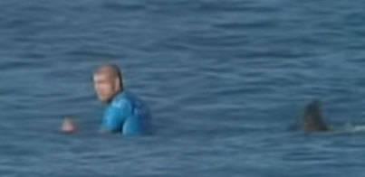 Un surfista escapa ileso del ataque de un tiburón