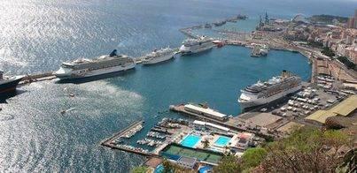 El puerto tinerfeño duplicará en septiembre las cifras de cruceros