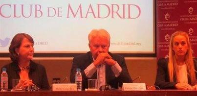Felipe González:'El 99% de los votantes de Podemos no sabe lo que pasa en Venezuela