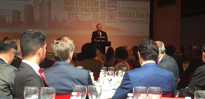 Hidalgo pide colaboración para las ayudas al desarrollo sostenible