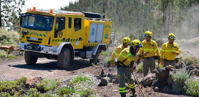 Estabilizado el incendio forestal en Orticosa