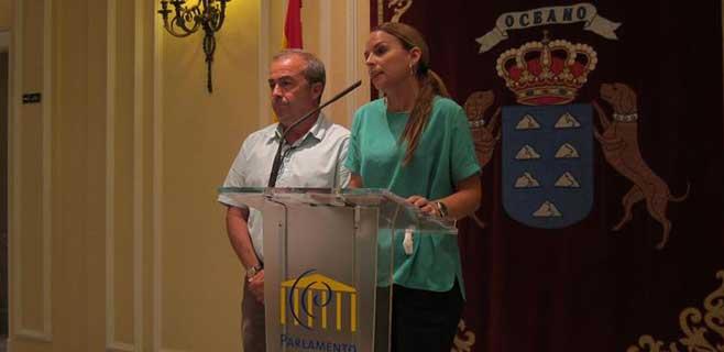 Santana; CC y PSOE son