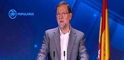 Rajoy: PSOE y Podemos deben estar abochornados por lo de Grecia