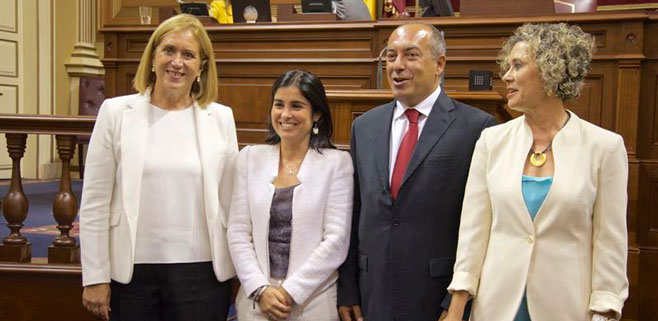 María del Mar Julios, Mercedes Roldós y Julio Cruz serán senadores autonómicos