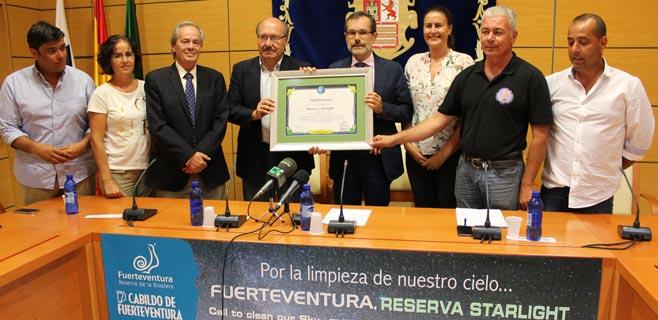 La UNESCO acredita a Fuerteventura como Reserva Starlight