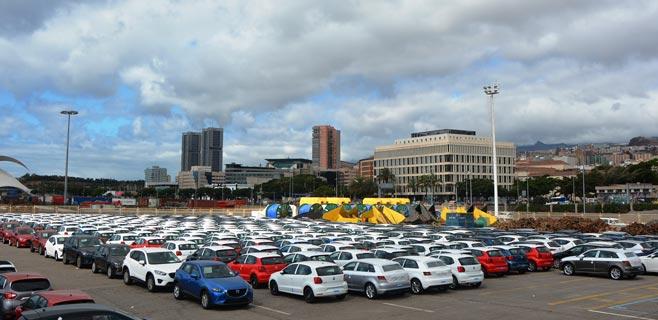 La importación de vehículos crece en Tenerife