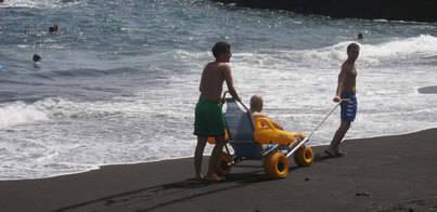 'Verano sin barreras' para casi 40 personas con discapacidad