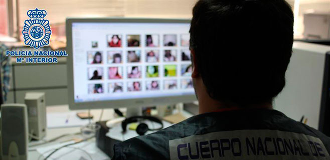 Detenido por amenazar a menores para obtener imágenes sexuales
