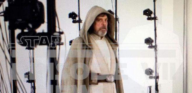Primera imagen de Luke Skywalker en Star Wars