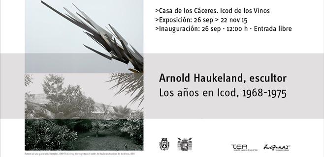 'Los años en Icod (1969-1975)' exposición de Arnold Haukeland
