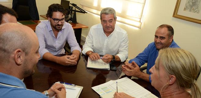 Cabildo y El Rosario estudian construir un depósito de agua