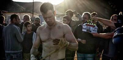 Primera imagen de Matt Damon en el rodaje de 'Bourne 5'