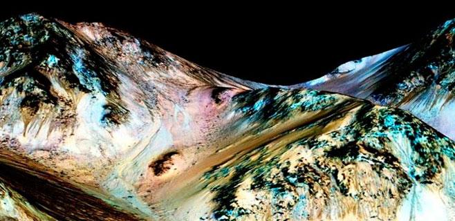 La NASA encuentra evidencias de agua en Marte