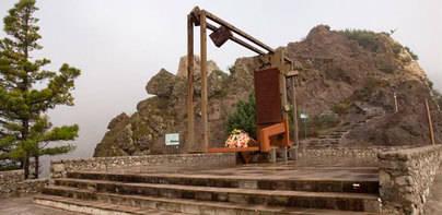 La Gomera recuerda a las víctimas del incendio de 1984