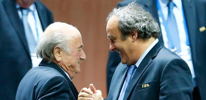 FIFA confirma la suspensión de 90 días de Blatter y Platini