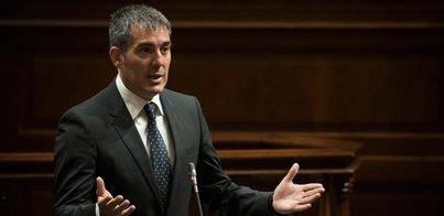 Clavijo apela a que la tensión territorial se resuelva 'hablando'