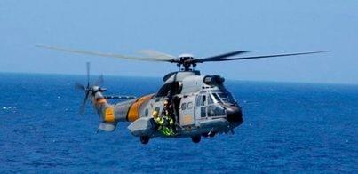 Localizados los tres tripulantes del helicóptero siniestrado