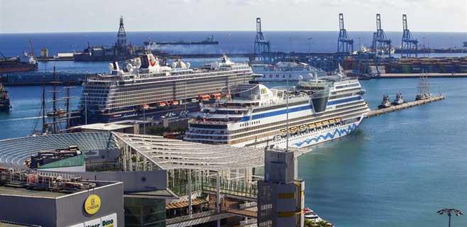 Gran Canaria aumenta su número de cruceristas un 18% y Tenerife un 5,14%
