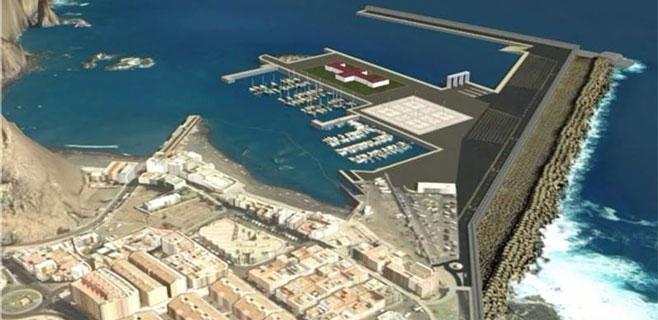Puertos Canarios invertirá 8 millones para ampliar Agaete y Playa Blanca