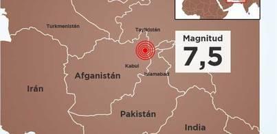 Al menos 270 muertos en Afganistán y Pakistán