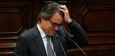 El Parlament rechaza investir a Artur Mas