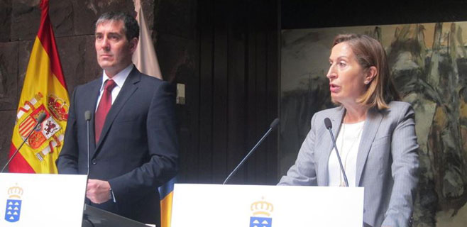 Fomento anuncia una inversión de más de 120 millones para Tenerife Sur