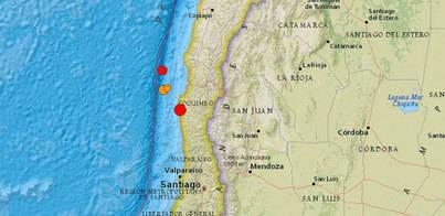 Un terremoto de 6,8 azota Chile
