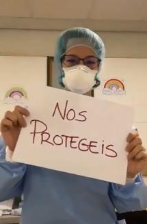 Sanitarios, Fuerzas de Seguridad, Ejército...: ¡Gracias!