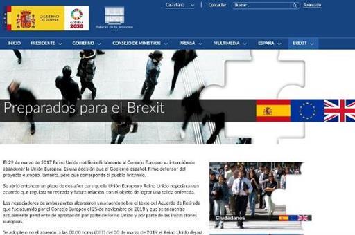 El Gobierno crea en su web un apartado para facilitar la preparación frente al Brexit
