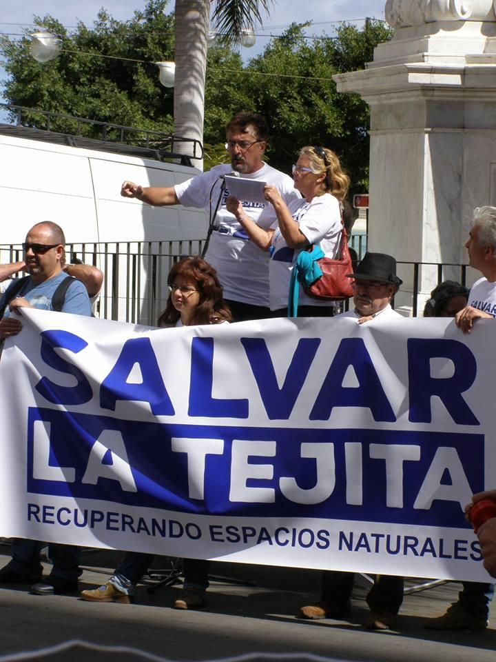 Manifestación contra la construcción de un hotel en La Tejita | Canariasdiario.com