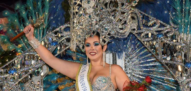 Resultado de imagen de raquel reina carnaval puerto de la cruz